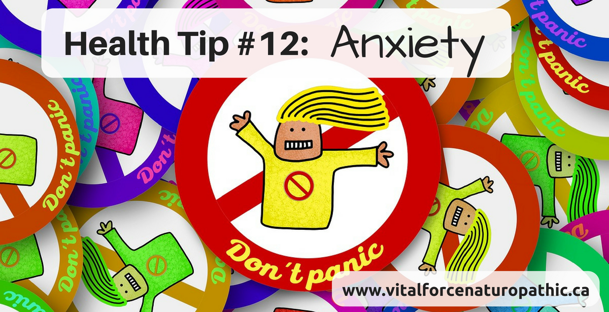 Health Tip #12: Anxiety