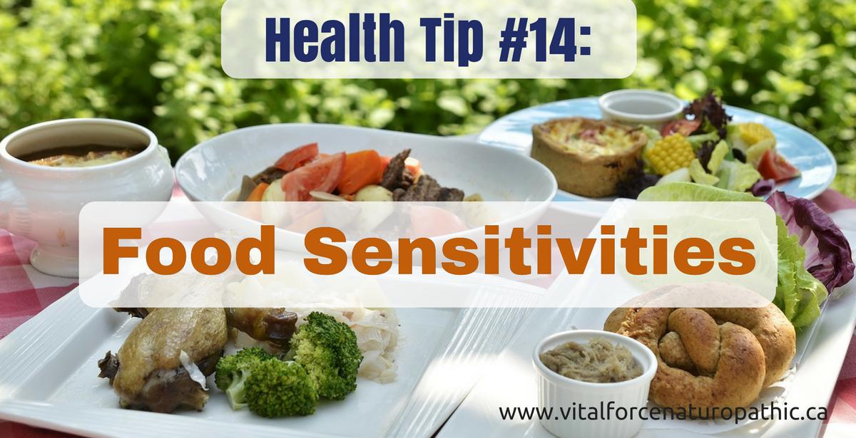 Vital Force Health Tip #14: Food Sensitivities