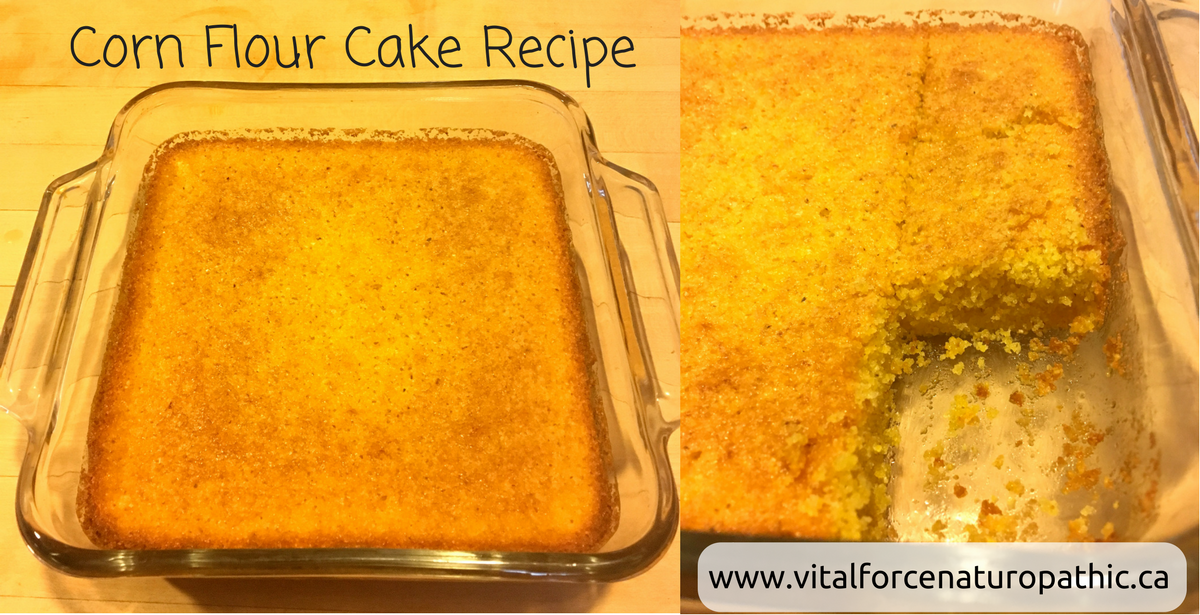 VItal Force: Corn Flour Cake Recipe